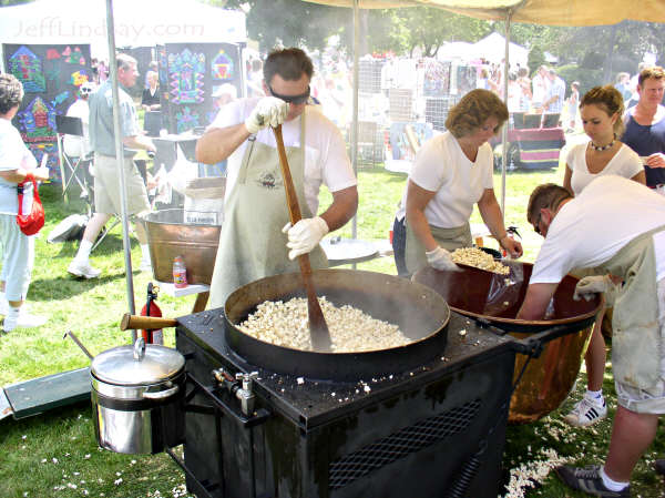 Old Fashioned Kettle Corn Business
